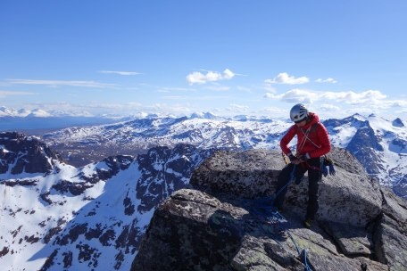 Top of Baugen, Kvaloya, Northern Norway