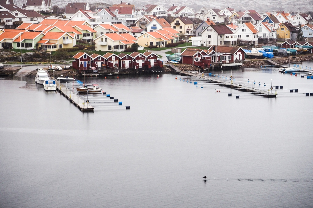 Smögen, a lovely village to spend your rainy days in.