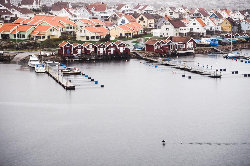 Smögen, a lovely village to spend your rainy days in.