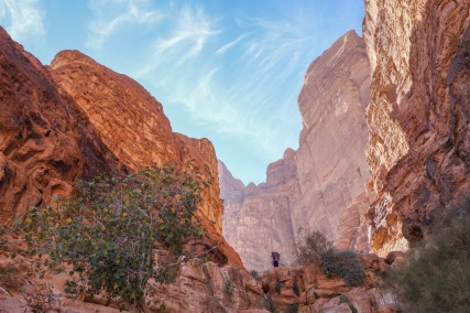Approach to Abu Maileh Tower, Wadi Rum, Jordan