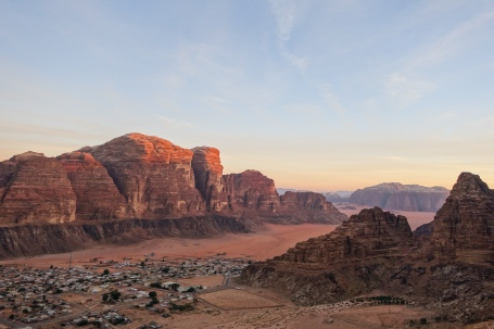 Village of Wadi Rum, Jordan