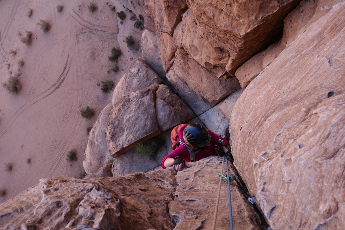 Merlin's Wand, Barrah Canyon, Jordan