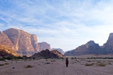 Behind Wadi Rum Village, Jordan