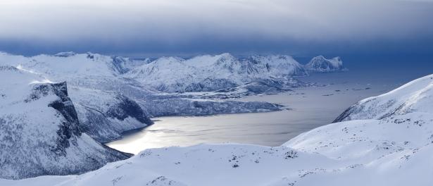 Finnkona, Senja Island, Northern Norway