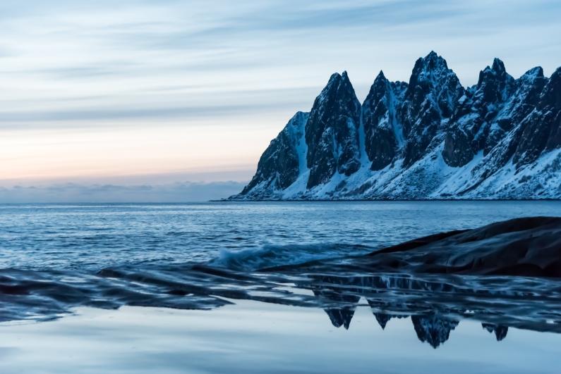 Djevelens Tanngård, Senja Island, Northern Norway