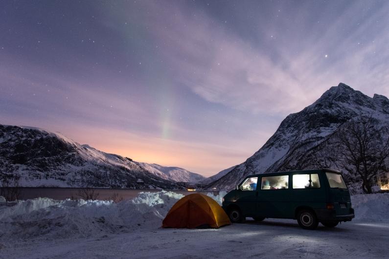 Parking Lot, Senja Island, Northern Norway