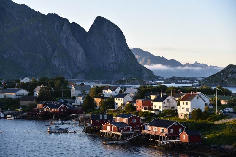 Village of Reine, Lofoten, Northern Norway