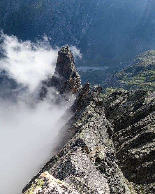 Salbitschien West Ridge, Switzerland