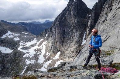 Top of Baugen, Kvaloya, Northern Norway