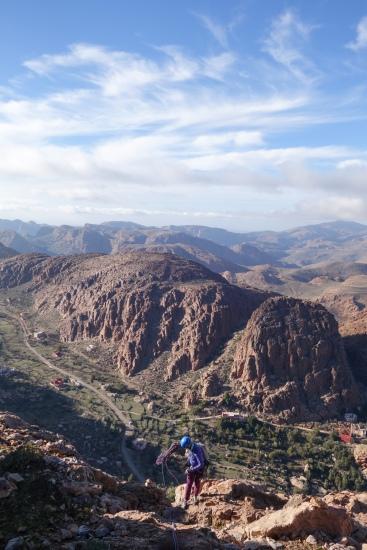 Afantizar Valley, Tafraoute, Morocco.