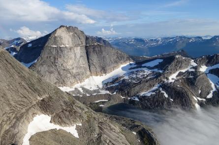 Clouds over Svartvatn, Stetind, Northern Norway